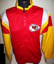 KANSAS CITY CHIEFS STARTER  Full Zip Track Jacket  RED  L XL