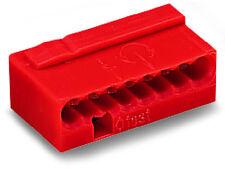 WAGO Micro Klemmen 243-808 8polig rot 50 Stk