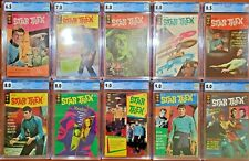 Star Trek Gold Key CGC Lot of 10 Issues - Issues 1, 2, 3, 4, 5, 6, 7, 8, 9, 10