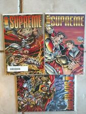 Image Comics Supreme #25-27 Full Run + Glory Days #2 First Prints. NM 4 Books