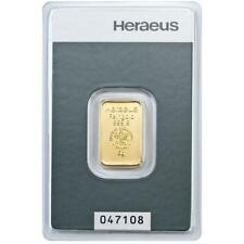 Heraeus - 5 Gramm Goldbarren - 999,9 Gold - in Blisterkarte - Neuware