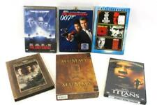 Lot of 7 Action Suspense Thriller Movies Mummy 007 Last Castle DVD's