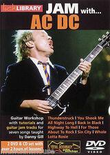 Marmelade mit Infos zu AC / DC Gitarren Lick Library DVD CD ZURÜCK IN SCHWARZ