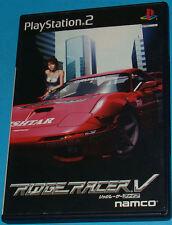 Ridge Racer V - Sony Playstation 2 PS2 Japan - JAP