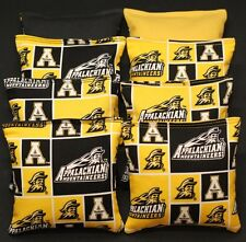 Cornhole Bean Bags made w Appalachian State University Mountaineers Fabric