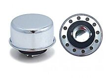 Breather Cap Oil Twist On Chrome Breather, Race 4273 Baffle For Valve Covers