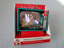 "MARILYN MONROE ILLUMINATED MUSICAL ORNAMENT - ""MY HEART BELONGS TO DADDY"" - NEW"