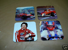 Gilles Villeneuve F1 Formula One Drinks Coaster Set