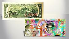 PRINCESS DIANA Street Art GENUINE Tender $2 Bill Ltd 217 - SIGNED by RENCY & S/N