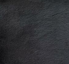 """Faux Fake Fur Solid Velboa Fabric by the Yard Black 60"""" wide custom blankets"""