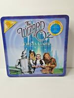 WIZARD OF OZ TRIVIA Board Game  Boardgame Collectors Tin NEW SEALED!