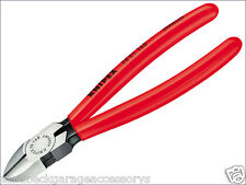 Knipex Diagonal Side Cutters PVC Grips 160mm Pliers 70 01 160