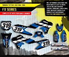 YAMAHA YZ 250F YZ 450F decals stickers graphics kit YZF 250 450 2014 2015