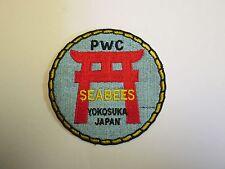 b8555 US Navy Vietnam Naval Mobile Construction PWC Seabees Yokosuka Japan IR25E