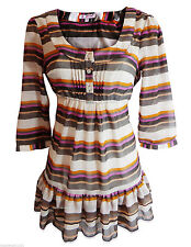 Marks and Spencer Plus Size Striped Tops & Shirts for Women