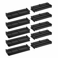 10 Pcs Black Dual Row 34 Pin IDC Socket Connector Female Header 2.54mm