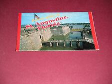 1970's Souvenir Folder of St. Augustine Florida #