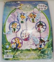 TINKERBELL & FRIENDS Disney FAIRIES Janlynn Felt Applique ORNAMENTS Kit Yb19