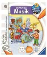 tiptoi Buch Die Welt der Musik | Ravensburger 32902 | Kinderbuch ab 4 Jahre