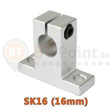 Ondes support sk16 16mm linéaire rail shaft sh16a 3d imprimante printer cnc reprap