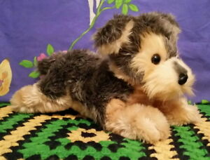 *Laying plush YORKSHIRE TERRIER puppy by Aurora*