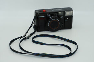 Olympus AFL Quick Flash Compact 35mm Film Camera Point & Shoot Vintage 1980s