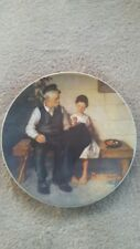 "Norman Rockwell Collector Plate ""The Lighthouse Keeper's Daughter"" 1979"