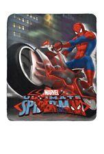 plaid polaire couverture spiderman