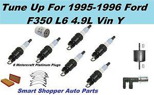 Ford F350 Air Oil Fuel Filter, Spark Plug, Spark Plug Wire Set PCV Valve Tune Up