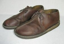 Clarks Originals Desert Trek brown leather chukka desert boots shoes 10.5