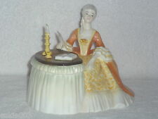 """Royal Doulton Hand Painted """" Meditation """" Lady Sitting by Desk Hn 2330 Retired"""