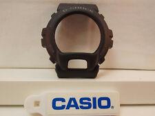 Casio Watch Parts G-6900 -1/GW-6900 -1 Bezel/Shell G-Shock Black w/Gray Letters