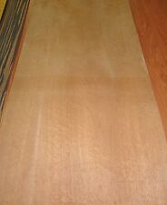 "Sapele Pommele Mahogany wood veneer 9"" x 28"" on paper backer ""A"" grade 1/40th"""