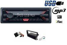 SONY DSX-A200UI Autoradio mit MP3 USB AUX für VW Golf V VI Jetta Passat Touran