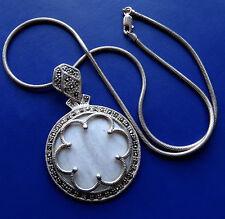 Silver Marcasite Vintage Costume Necklaces