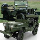 CES JJRC Q65 2.4G 1/10 Rc Car Military Truck Rock Crawler 4WD Off-Road Vehicle M