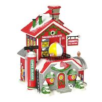 Bouncys Ball Factory Dept 56 North Pole Village 6000614 Christmas snow toy A
