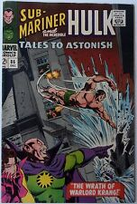 Tales to Astonish #86 (Dec 1966, Marvel), VFN-NM, Incredible Hulk & Sub-Mariner