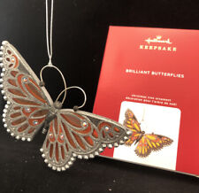 Brilliant Butterflies #4 In The Series 2020 Hallmark Ornament Free shipping Mib