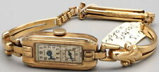 Rare Vintage Olympic Watch Co. Doctor's Watch 17J 10K Rolled Gold Swiss Runs 30'