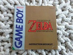 THE LEGEND OF ZELDA : LINK'S AWAKENING - Nintendo Game Boy Manual ~ DMG-ZL-UKV