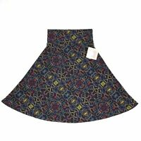 LuLaRoe Women's Blue Azure A-Line Stretch Skirt Size Small New NWT