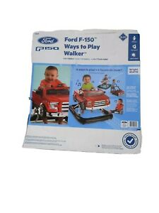 Bright Starts Ford F-150 3 Ways to Play Walker Red New