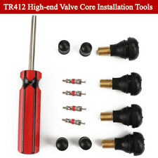 Truck Motorcycle Valve Core Installer Tool TR412 Tire Snap In Short Rubber Tools