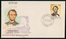 Mayfairstamps India FDC 1965 Abraham Lincoln First Day Cover wwg_01675