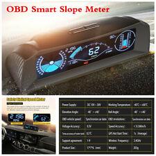 OBD2 HUD Head Up Display Car Board Smart Computer Health Monitor Code Reader