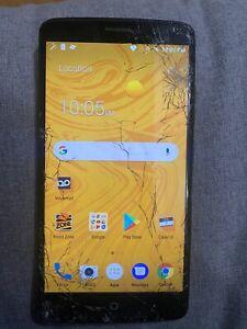 ZTE MAX XL 16GB Black Boost Mobile Smartphone With Original Sim Boostmobile