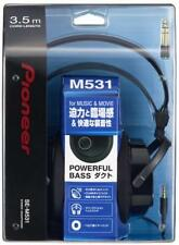 PIONEER SE-M531 Enclosed Dynamic Headphone Black Japan Import Free shipping