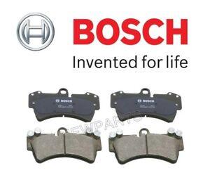Front Disc Brake Pad Set Bosch Quietcast BP1014 for Porsche Cayenne GTS S 03-10