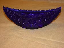 Glass Candy Dish - Cobalt Blue